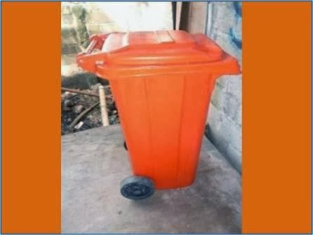 Tong Sampah fiber beroda tong sampah sulo Jakarta