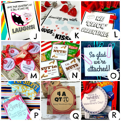 Valentine Printables A to Z @michellepaigeblogs.com