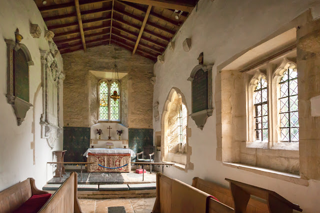 St George's church at Kelmscott in the Oxfordshire Cotswolds by Martyn Ferry Photography