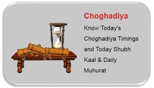 Great Bharat: Vedic Astrology & Choghadiya - Auspicious Date