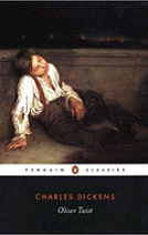 Oliver Twist by Charles Dickens book cover