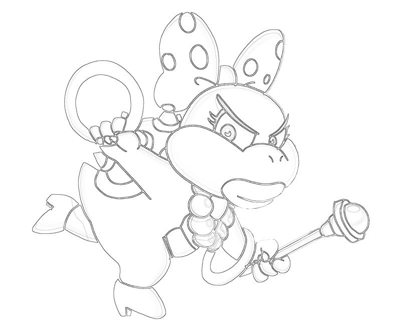 super mario ludwig coloring pages - photo#40