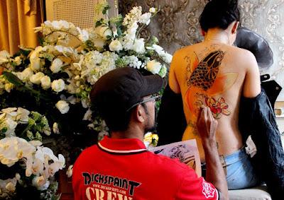 Body Painting Jakarta Indonesia