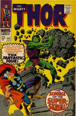 Thor #142, the Super Skrull