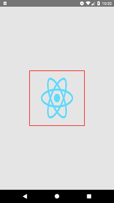 React Native Show Border Around Image Component Android