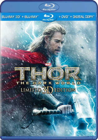Thor The Dark World 2013 BRRip 850MB Hindi Dual Audio 720p Watch Online Full Movie Download bolly4u