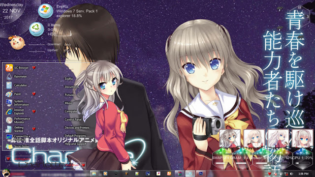 Charlotte Theme Win 7 by Andrea_37
