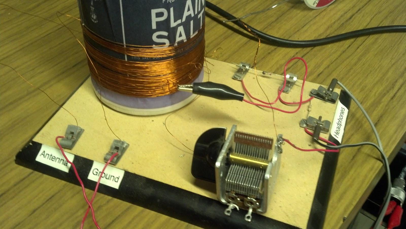 Project: Morton Salt Box Crystal Radio Repair (Part 1)