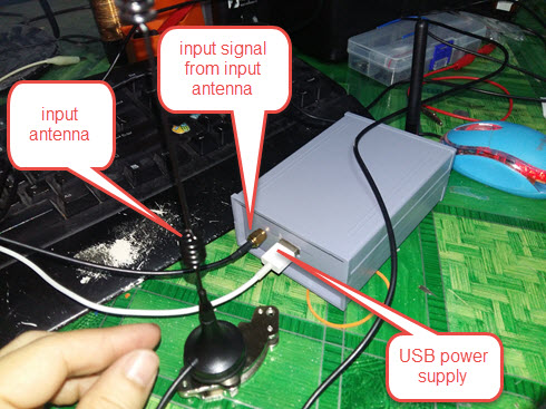 HomeMade DIY HowTo Make: 4G Signal booster / amplifier