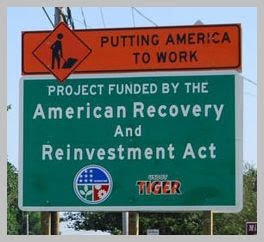ARRA Stimulus Project Sign - Source: U.S. Senator Bernie Sanders