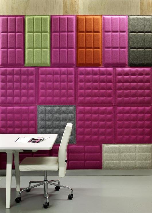 como fazer decoração O Tile 3D colorida