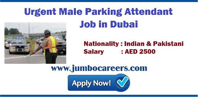 Parking Attendant Job in Dubai