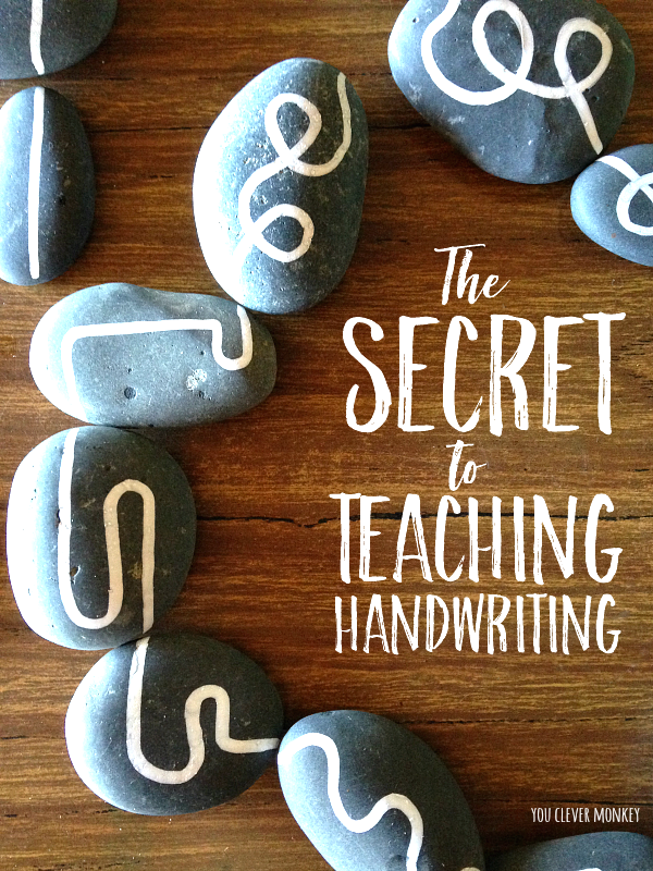 The secret of how to teach handwriting | you clever monkey