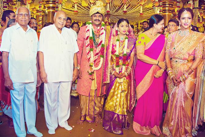 , Manoj Manchu and Pranathi Reddy Wedding Pics