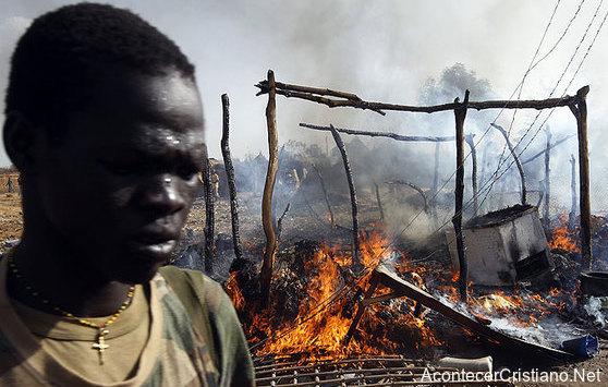 Queman casas de cristianos en Sudán