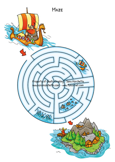 vikings maze