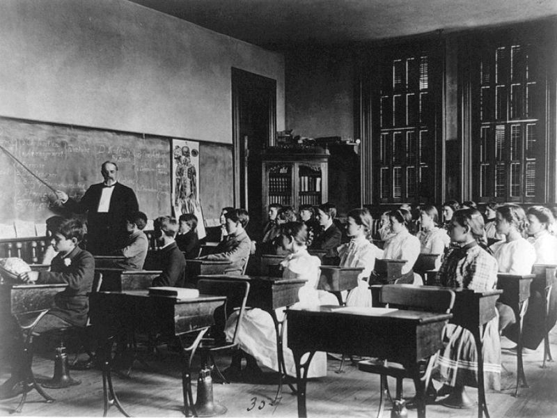 Classroom Decor Black And White ~ Here s what school classrooms looked like from the late