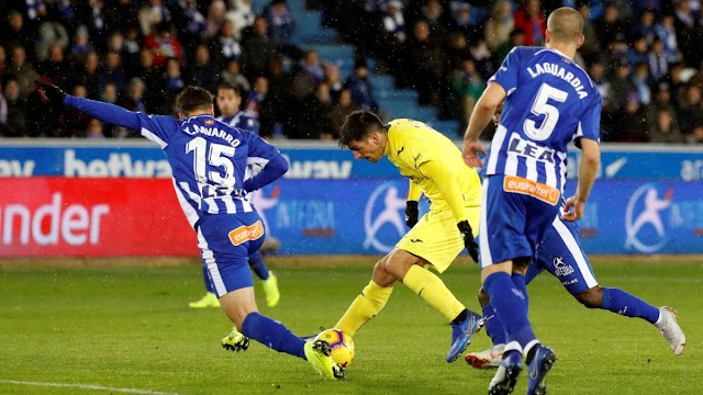 Villarreal wins 4-1, as Ekambi scores 2 against Alavés (Video)