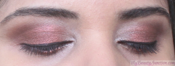 Marsala FOTD, EOTD with 12 makeup products including Girlactick Lush eyeshadow