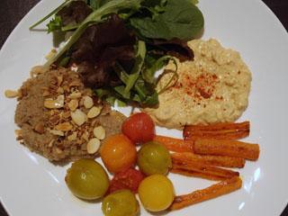 teff salad plate