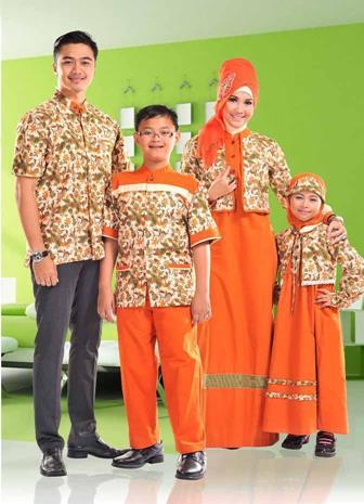 Baju Batik Seragaman Untuk Keluarga