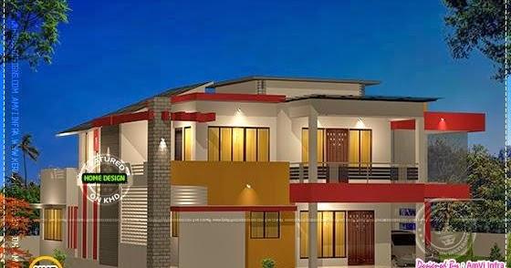 Modern 4 BHK House Plan In 2800 Sq.feet