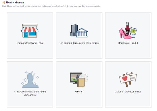 Cara Cepat Membuat Fanspage di Facebook Lengkap Dengan Gambar