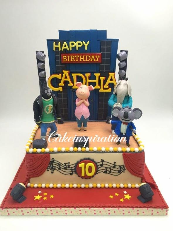 The Sensational Cakes Sing Theme Birthday Cake Singapore