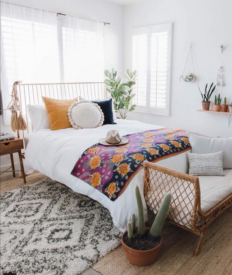 My Scandinavian Home Relaxed Boho Style In Orange County California
