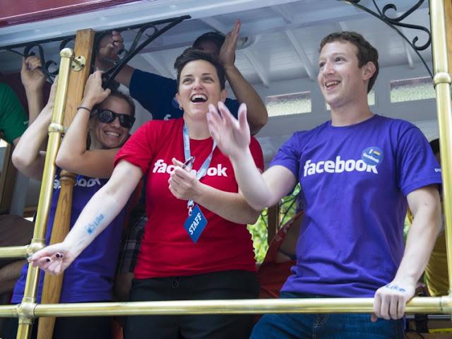 Mark Zuckerberg and his staffs