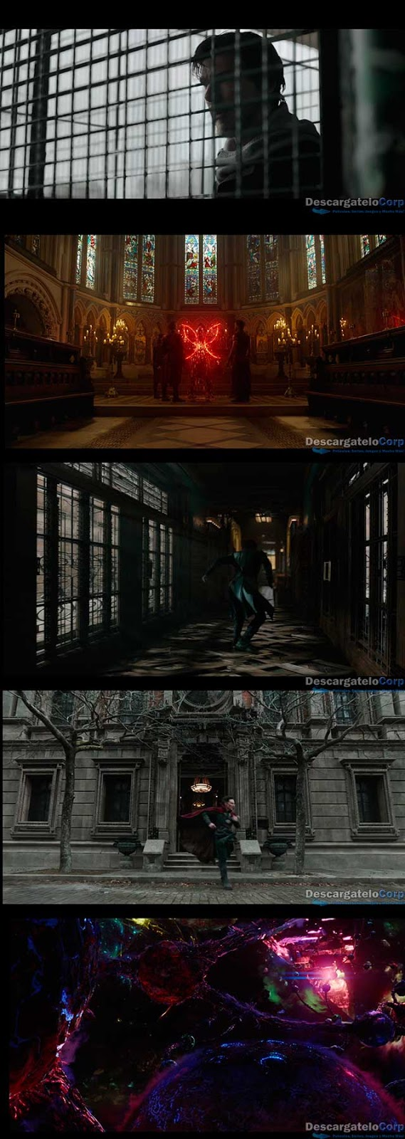 Doctor Strange Hechicero Supremo (2016) IMAX Edition HD 1080p Español Latino