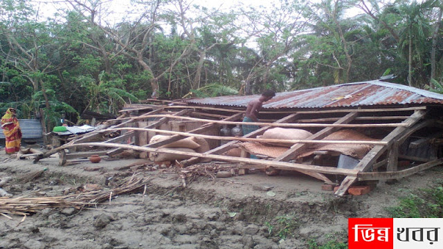 Caraphyasane cyclone victims living in sub-human