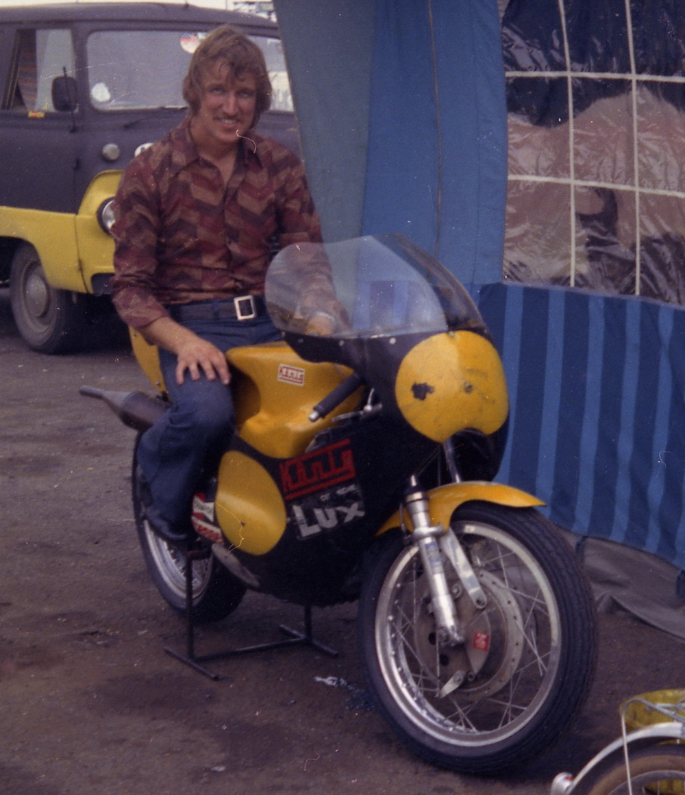 Oddbike Knig 500 Gp Outboard Powered Underdog Rotax Motorcycle Engine Diagram Clutch Kim Newcombe Konig