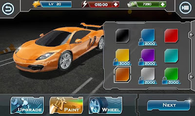 Screenshot: Turbo Car Racing 3D Apk