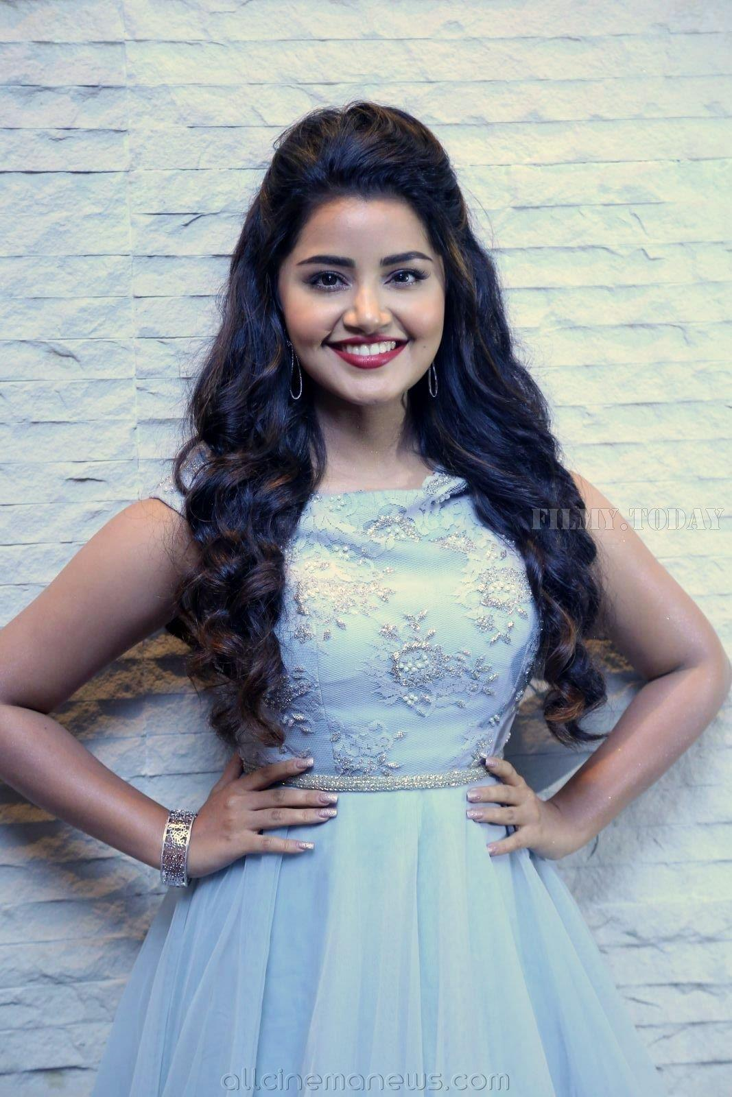 Anupama Parameswaran At Vunnadhi Okate Zindagi MOVIE PRE RELEASE