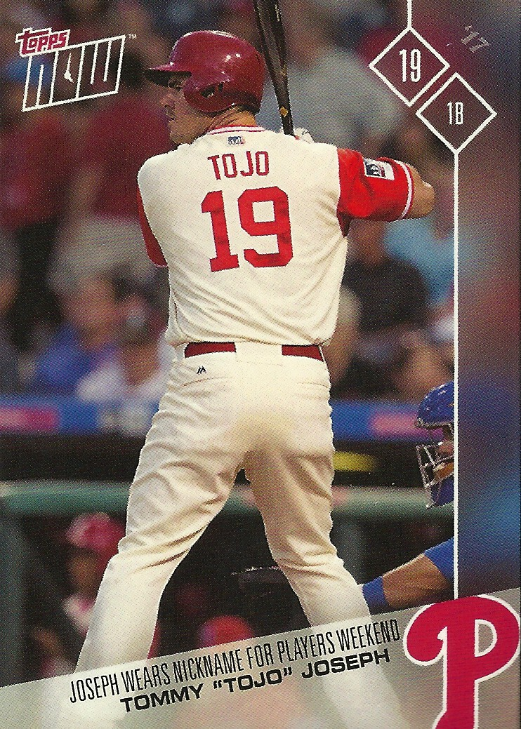 baedb6194 Grapefruit Game 5 - 2017 Topps Now MLB Players Weekend  PW-103 Tommy Joseph