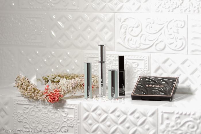 Opinion sobre los productos de maquillaje Givenchy polvos de sol labial mascara de pestañas