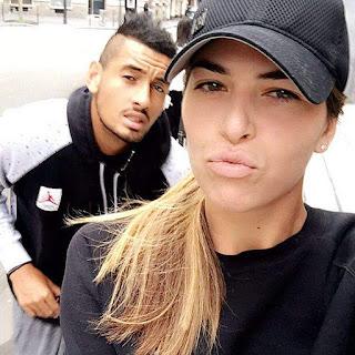 Photos: Ajla Tomljanovic and boyfriend Nick Kyrgios