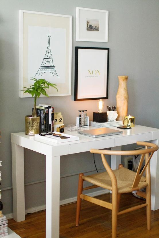 White Desk Envy Lovely Life Styling