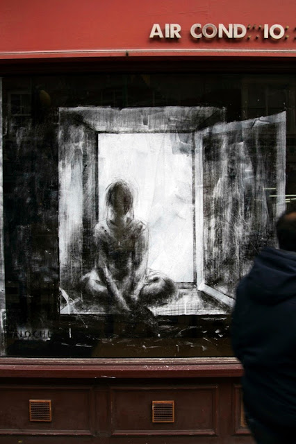 "Borondo ""Dia - Noche"" New Street Piece - East London (Part II) 9"