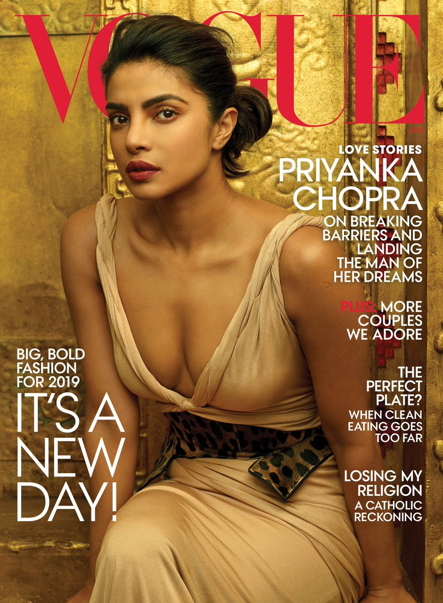 Priyanka Chopra Vogue Cover