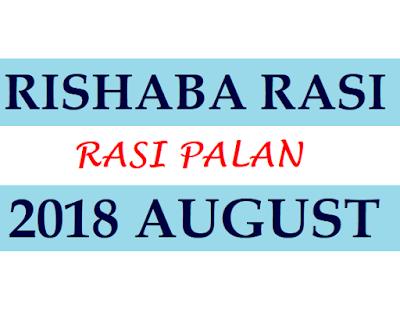Rishaba Rasi Phalalu 2018
