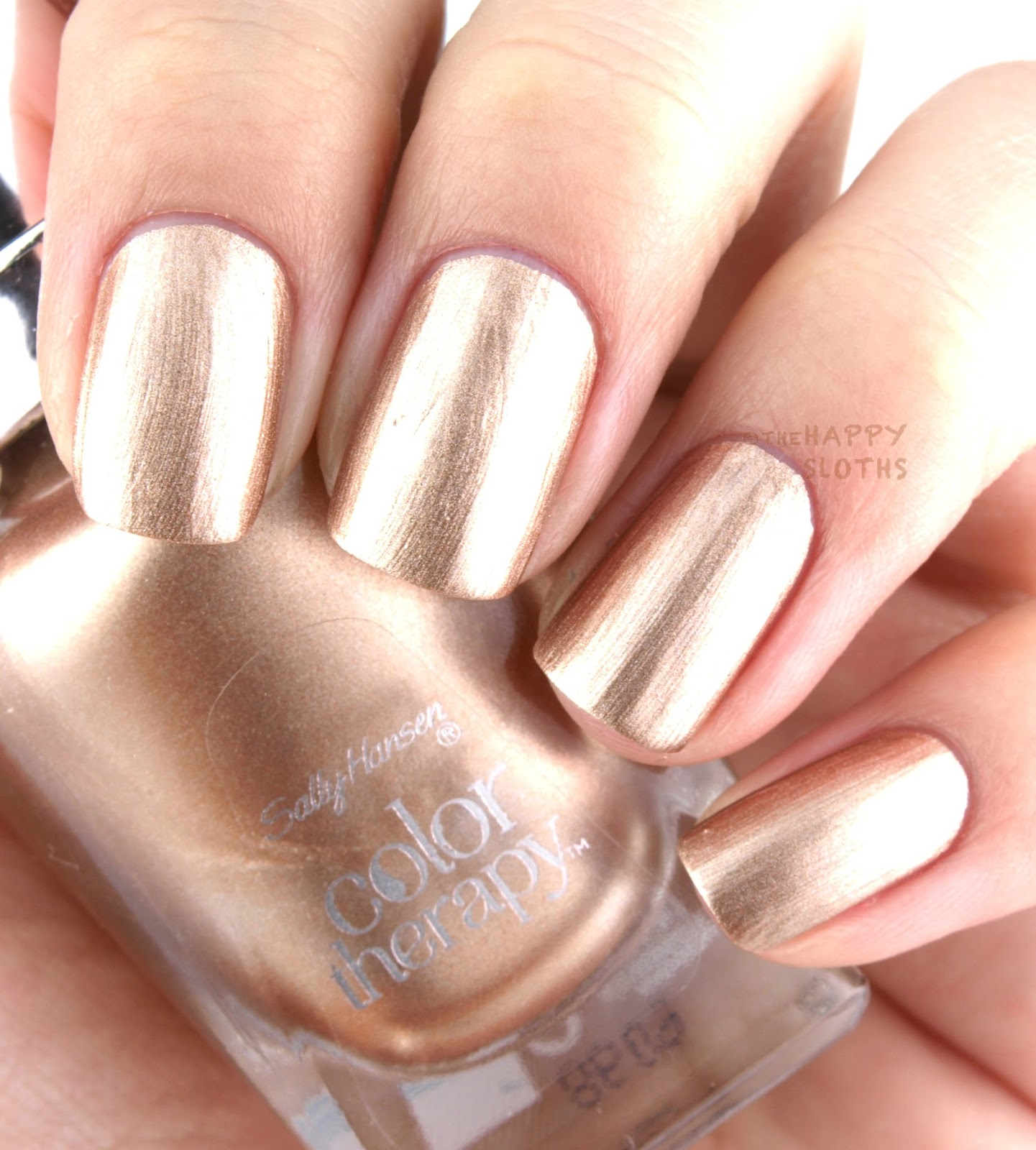 Sally Hansen Color Therapy Nail Polish: Review and Swatches | The ...