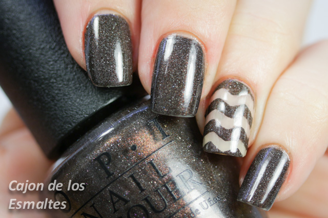 OPI - My private Jet - Chevron con decals de Make it Stick