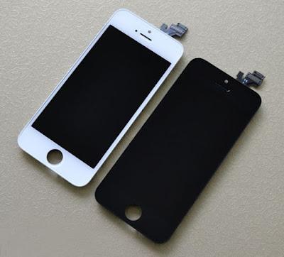 man hinh cua iphone 5