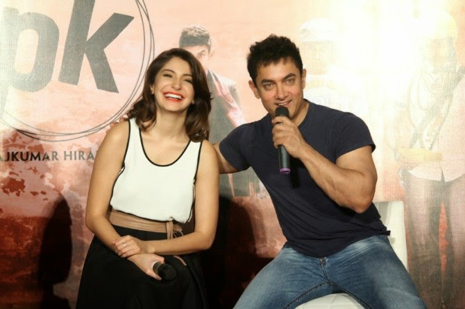 Aamir Khan and Anushka Sharma