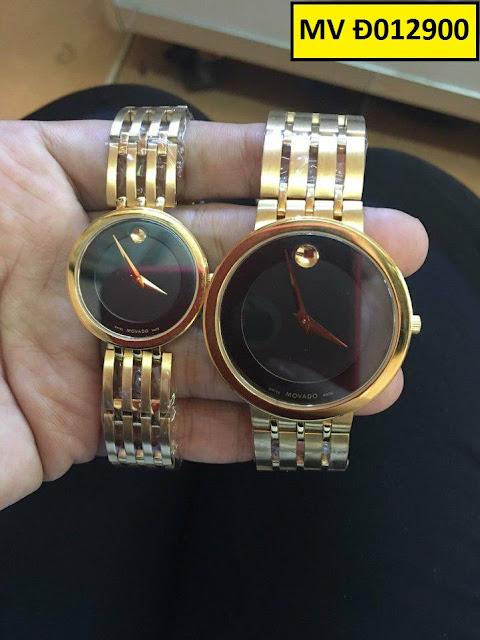 đồng hồ cặp đôi movado