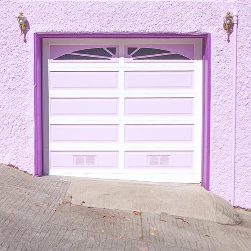 Purple Garage in San Francisco   Instagram: LLKCake