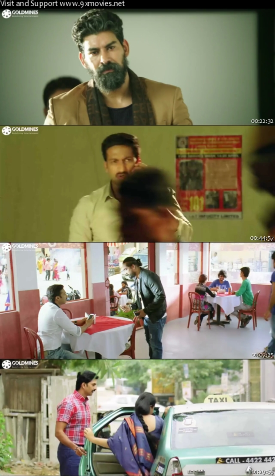 Jil 2016 Hindi Dubbed 480p HDRip