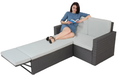 Miadomodo Garden Patio Day Bed